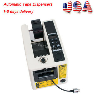 Usa 18w Automatic Tape Dispensers Adhesive Tape Cutter Packaging Machine