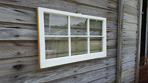 Vintage Sash Antique Wood Window Unique Frame Pinterest Wedding 36x20 No Glass