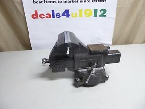 Columbian 6 Swivel Base Bench Vise D6 D56 Usa Very Good Pre Owned Condition