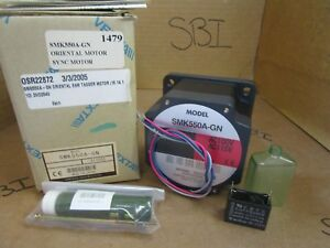Oriental Motor Low Speed Synchronous Motor Smk550a gn Smk550agn 115v 72r min New