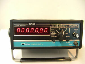 Data Precision Model 5740 100mhz Multi function Counter timer