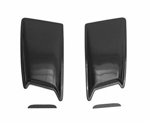 Auto Ventshade Avs Large Ram Air Dual Hood Scoops unfinished Universal 80001