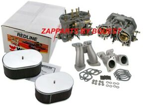 Porsche 356 912 Weber Carburetor Conversion Kit 40 Idf Redline Weber Kit
