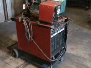 Lincoln Cv 400 Mig Welder With L7 Wire Feed