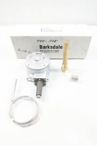 Barksdale T1x h251s Temperature Switch 100 300f 125 250 480v ac