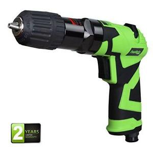 Powryte Elite 3 8 Inch Composite Reversible Air Drill With Keyless Chuck
