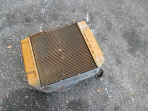 Caterpillar T40d 4000lbs Forklift Engine Cooling Radiator Cat Coolant System