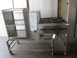 69 Southbend Commercial Range Food Prep Table Cart Station 32 X 24 Range