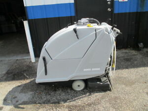 Nobles Tennant Boss 2000e 20 Carpet Extractor Floor Cleaner Walk Behind