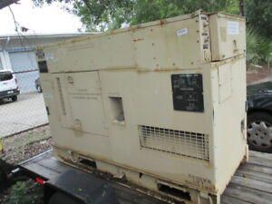 Fermont Diesel Military Tactical 30kw Generator Emp Proof Quiet Auxiliary Power