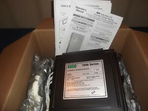 Asco 7000 Series Automatic Transfer Switch Ats Group 5 Controller