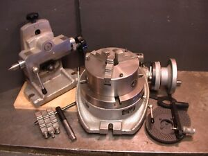8 Phase Ll Horizontal vertical Super Spacer Rotary Table Tailstock