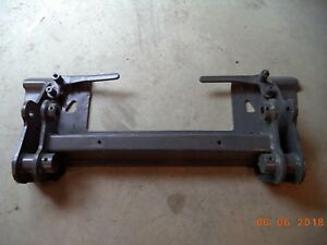 Bobcat Skid Steer Bobtach Assembly Quick Attach Adapter Plate T250 T300 Loader