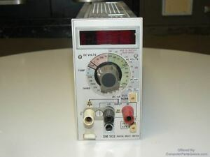 Tektronix Dm502 Digital Multi meter W Temp Probe tested