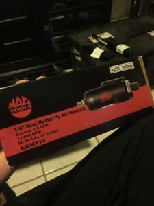 Mac Tools 1 4 Mini Butterfly Air Wrench