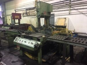 Doall Vertical Bandsaw Used Operational