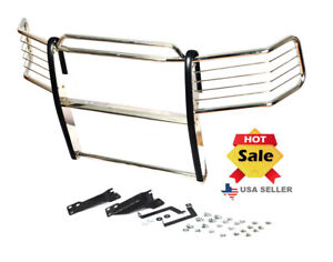 2015 2017 Chevy Silverado 2500 3500 Hd Chrome Stainless Steel Grill Brush Guard