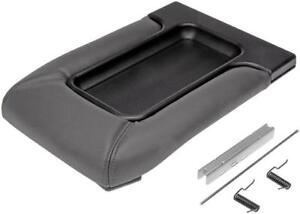 New Dark Gray Console Lid For Avalanche Tahoe Silverado Front Split Bench Seat