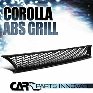 For 93 97 Toyota Corolla Replacement Jdm Mesh Type Abs Front Hood Grill Grille R
