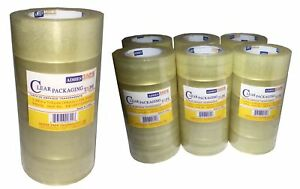 6 36 Rolls Tape Clear Sealing Tape Industrial Tape Packing Tape Box Wearhouse