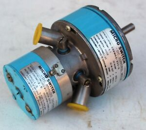 New Honeywell Micro Switch 33vm62 220 6 Dc Control Motor With Analog Tachometer
