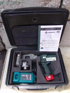 Greenlee Eccx Gator Pro Crimper Cable Cutter With 13 Dies