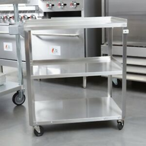 Vollrath 97140 39 1 2 In X 21 In Stainless Steel Utility Cart Must Pick Up