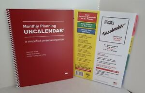 Uncalendar Lifestyle Pro Refill Fullsize Monthly Planner People Systems Goals