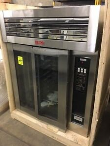 New Lbc Electric mini Rotating Rack Oven With Proofer Lmo E8