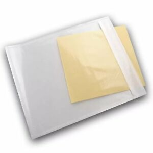 500pcs 6x9 Clear Packing List Enclosed Invoice Labels Pouches Shipping Envelopes