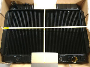 1964 1965 1966 1967 Chevelle El Camino 4 Core Automatic Radiator Free Ship