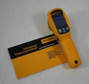 Fluke 62 Max Ir Thermometer Non Contact 20 To 932 Degree F Range excellent