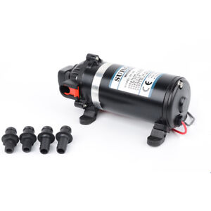 12v Dp 160 Diaphragm High Pressure Spray Pump Dc Ac Reciprocating Booster Pump