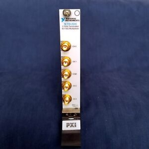 National Instruments Ni Pxi 2545 2 7 Ghz 50 4x1 Rf Multiplexer Switch Module