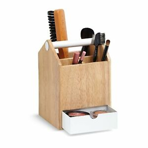 Functional Tall Storage Box Office Or Beauty Supply Holder With Drawer Slides