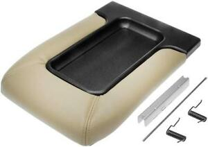 New Tan Console Lid For Avalanche Tahoe Silverado Sierra Front Split Bench Seat