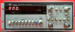 Hp Agilent Keysight 5315b Universal Counter Sn 2510a03498