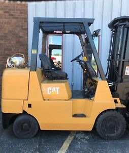 Caterpillar Gc40k lp 8 000lb Cushion Forklift Lifttruck