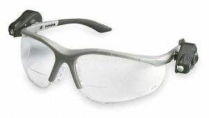 3m Clear Anti fog Bifocal Safety Reading Glasses 1 5 Diopter 11477 00000 10