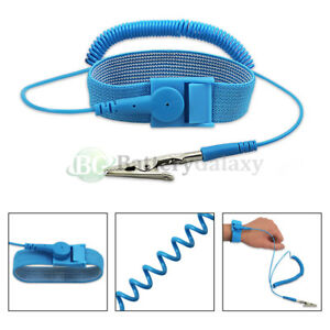100x Anti static Antistatic Esd Ground Strap Wrist Band Grounding Bracelet