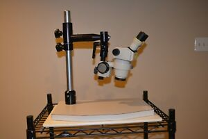 Nikon Smz 1 Stero Microscope With Heavy Duty Stand