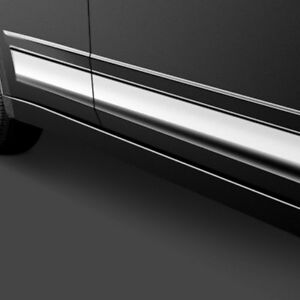For Chevy Malibu 2009 Saa L Type Polished Rocker Panel Covers