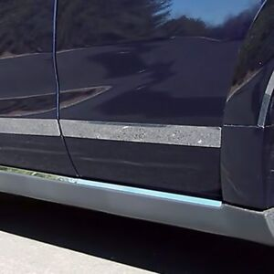 For Saturn Vue 2003 2007 Saa I type Polished Body Side Moldings