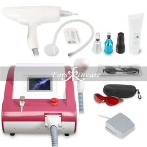 Professional Q Switch Yag Laser Tattoo Removal System Eyebrow Removal Machine Ce