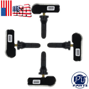 4pcs Gm Oem Tpms Tire Pressure Sensors For Chevy Silverado Impal 1500 2500 3500