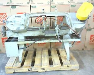 Model 8 Wellsaw Horizontal Bandsaw With Coolant Pump 230 460 Vac 3 Phase Works