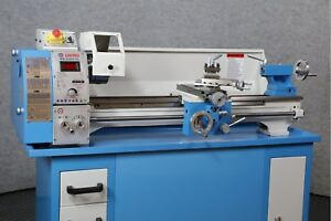 Weiss Wbl 250f Bench Top 10 X 22 Lathe With Digital Readout Threading Dial
