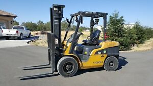 2006 Cat Caterpillar Forklift P7000 Mitsubishi Diesel Engine 7000 Lbs Fork Lift