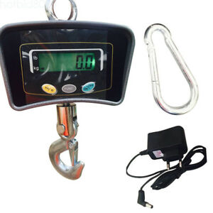 500kg 1100lbs Lcd Digital Electronic Heavy Duty Crane Hanging Weight Scale