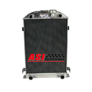 Asi 3 Row Aluminum Radiator For 1930 1931 Ford Model A Flathead Engine